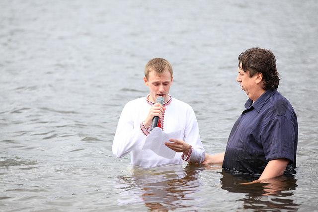 Крещение 15 июня 2014 года