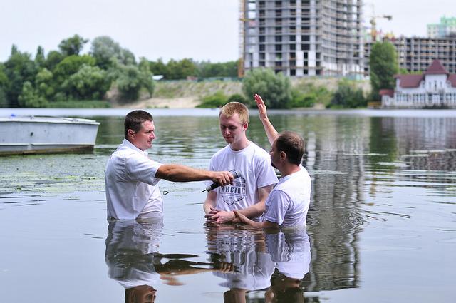Крещение 9 июля 2016 года