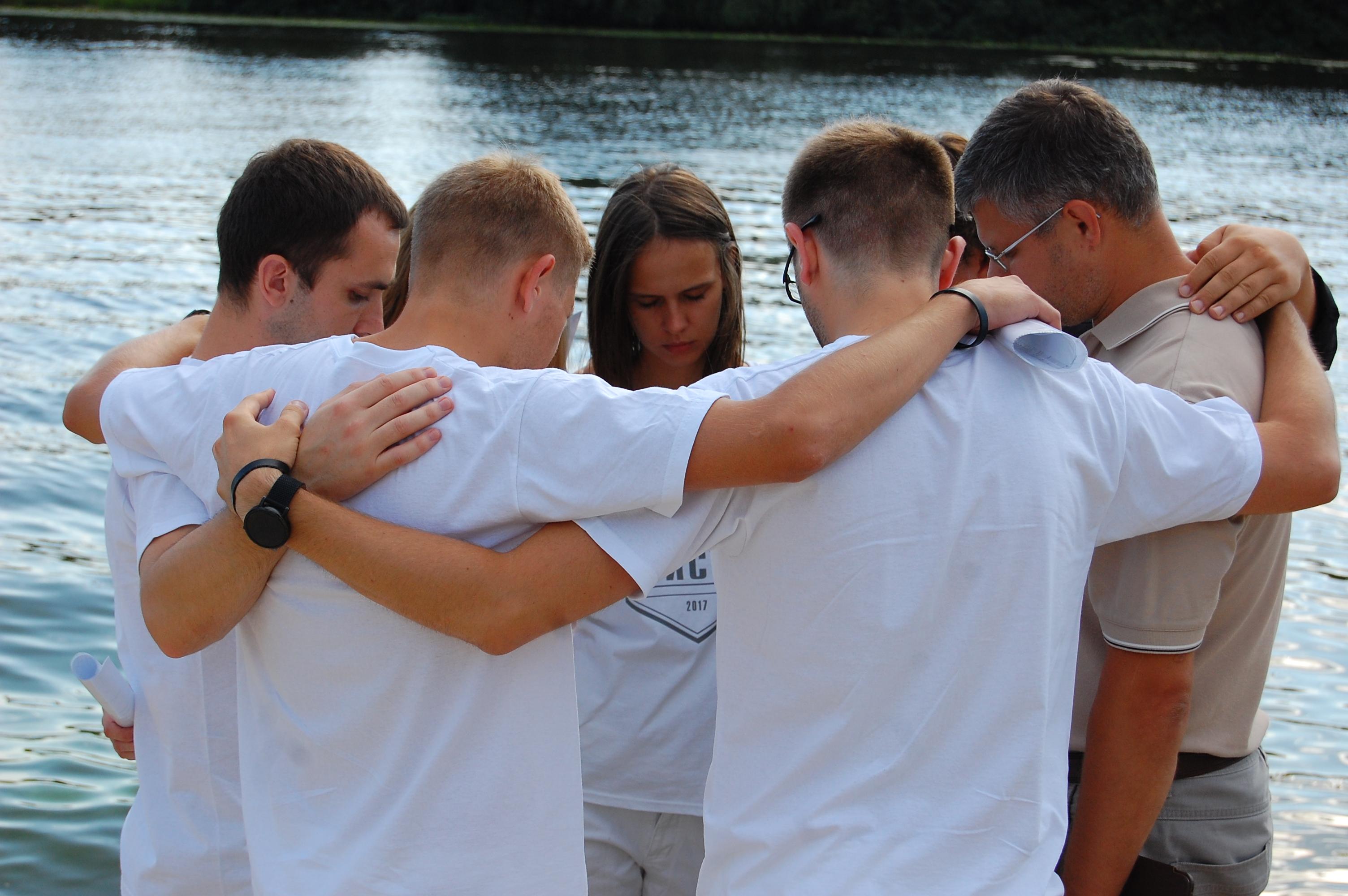 Молитва крещаемых